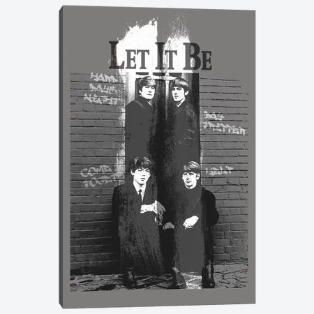 Let It Be Canvas Print #RAD38} by Radio Days Art Print