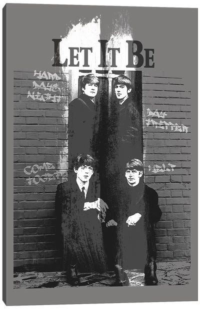 Let It Be Canvas Art Print