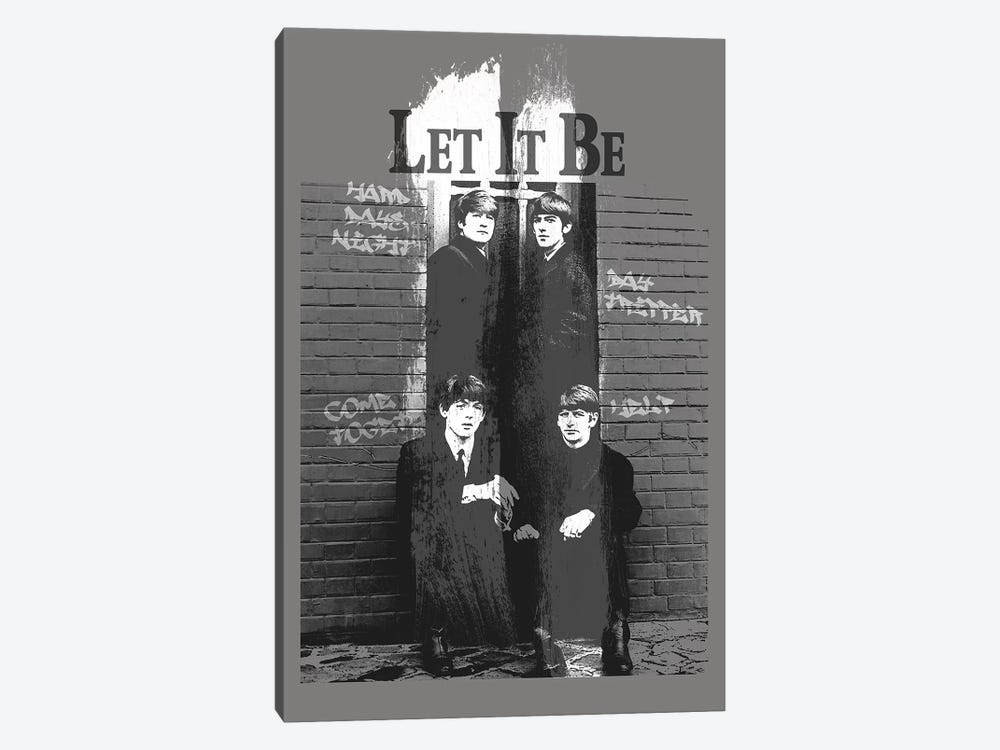 Let It Be by Radio Days 1-piece Canvas Art Print