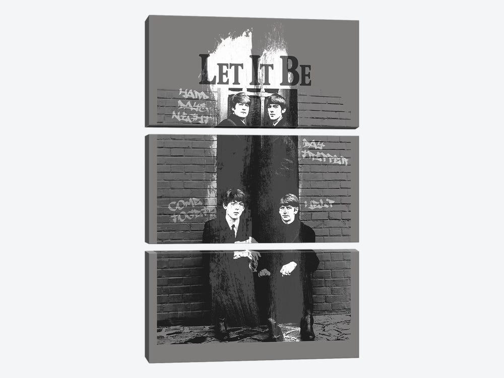 Let It Be by Radio Days 3-piece Art Print