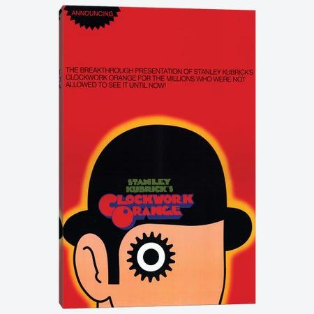 A Clockwork Orange Film Poster Canvas Print #RAD3} by Radio Days Canvas Wall Art