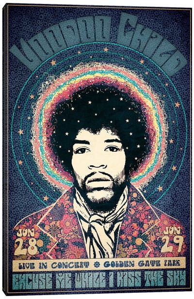 Voodoo Child Canvas Art Print