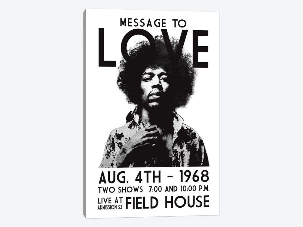 Message To Love by Radio Days 1-piece Canvas Art