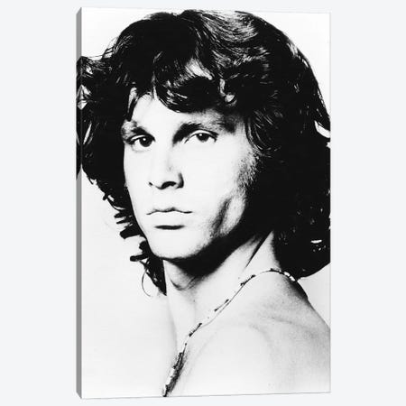 Jim Morrison Pose I Canvas Print #RAD47} by Radio Days Canvas Art Print