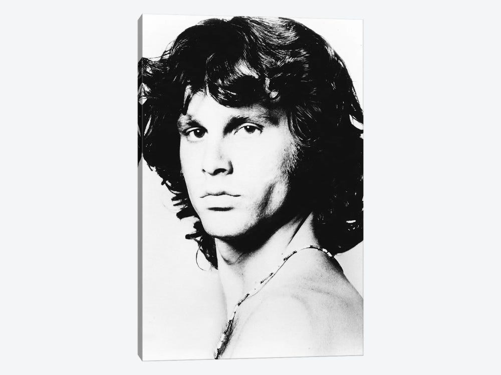 Jim Morrison Pose I by Radio Days 1-piece Art Print