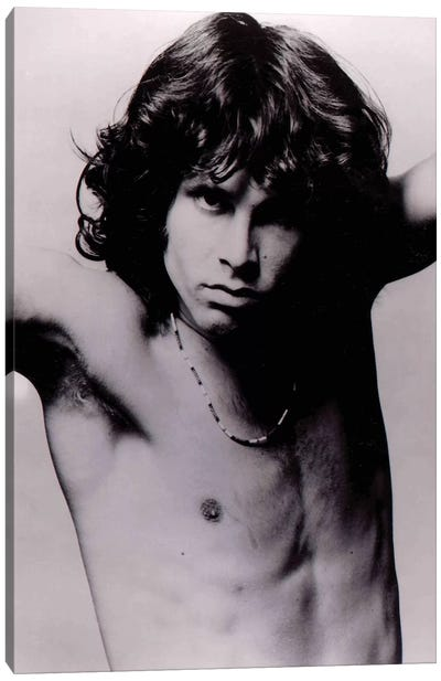 Jim Morrison Pose II Canvas Art Print