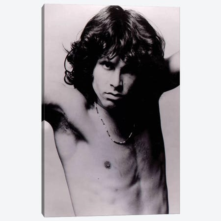 Jim Morrison Pose II Canvas Print #RAD48} by Radio Days Canvas Art