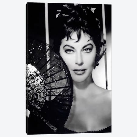 Ava Gardner As Maria Teresa de Cayetana (Duchess Of Alba) In The Naked Maja Canvas Print #RAD56} by Radio Days Canvas Wall Art