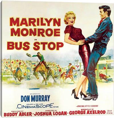 Bus Stop Film Poster (Rodeo Scene) Canvas Print #RAD60