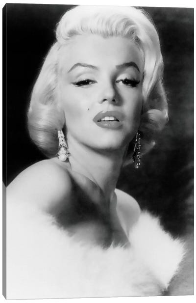 Classic Marilyn Monroe Pose I Canvas Art Print