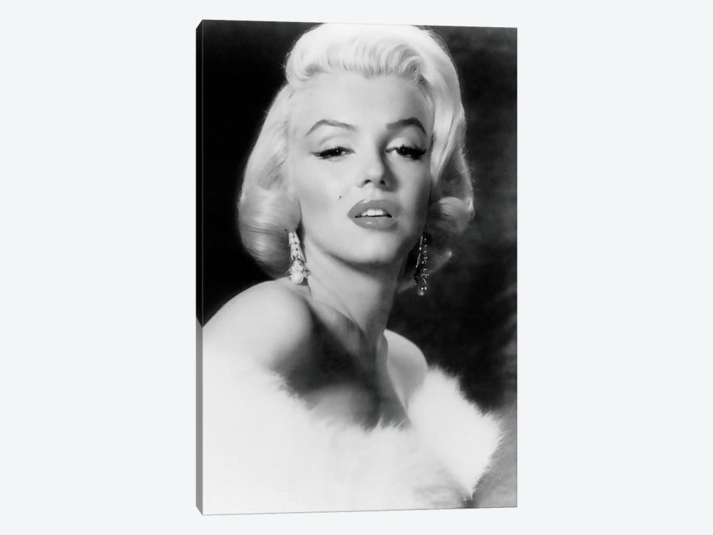 Classic Marilyn Monroe Pose I by Radio Days 1-piece Canvas Art Print