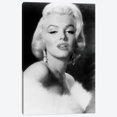 Classic Marilyn Monroe Pose I Canvas Print #RAD61} by Radio Days Canvas Wall Art