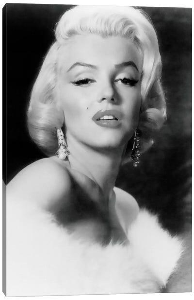Classic Marilyn Monroe Pose I Canvas Art Print