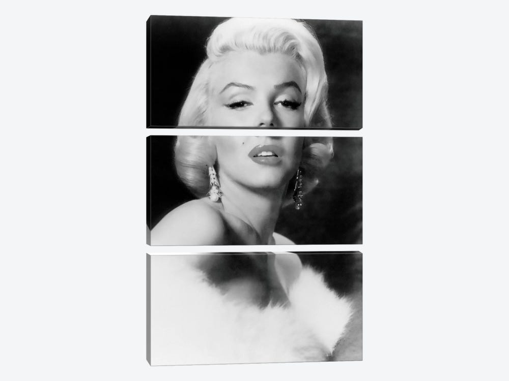 Classic Marilyn Monroe Pose I by Radio Days 3-piece Art Print