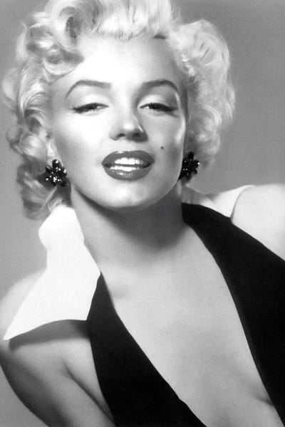 Classic Marilyn Monroe Pose II Canvas Art by Radio Days | iCanvas