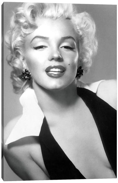 Classic Marilyn Monroe Pose II Canvas Art Print