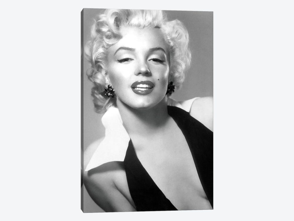 Classic Marilyn Monroe Pose II by Radio Days 1-piece Canvas Artwork