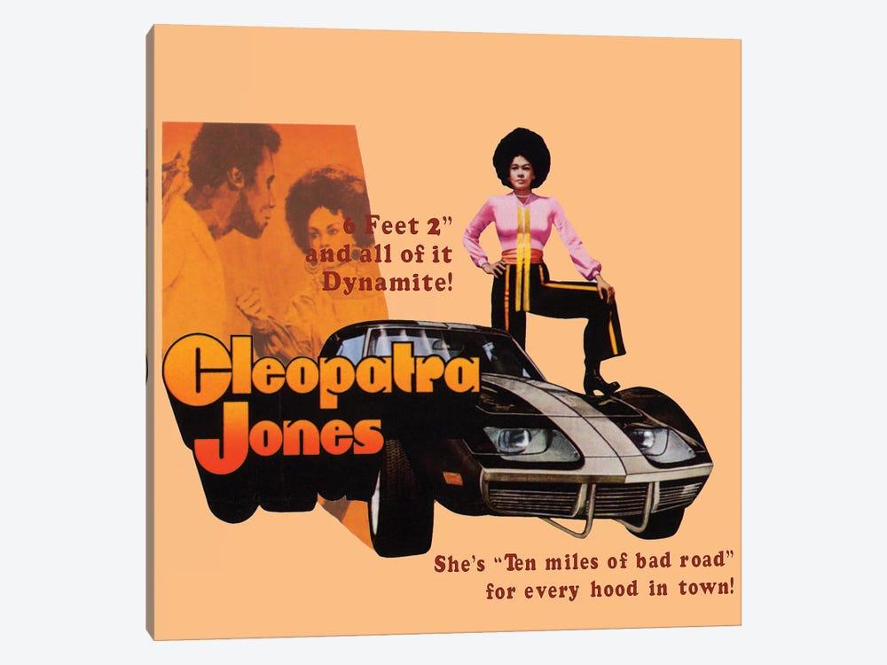 Cleopatra Jones Promotional Poster by Radio Days 1-piece Canvas Art Print