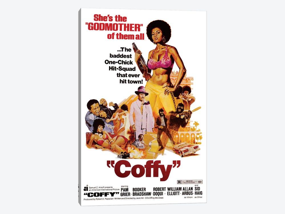 Coffy Film Poster by Radio Days 1-piece Canvas Artwork