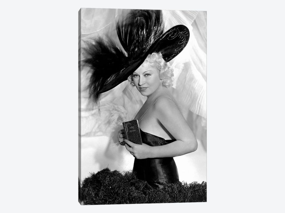 Mae West As Peaches O'Day In Every Day's A Holiday by Radio Days 1-piece Canvas Print