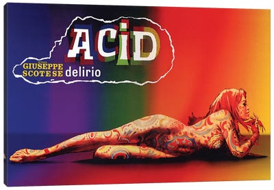 Acid: Delirio Dei Sensi Film Poster Canvas Print #RAD84