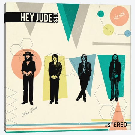 Hey Jude In Stereo, 1968 Canvas Print #RAD86} by Radio Days Canvas Art Print