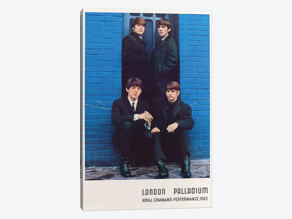 The Beatles 1963 Royal Command Performance Promotional Poster by Radio Days 1-piece Art Print