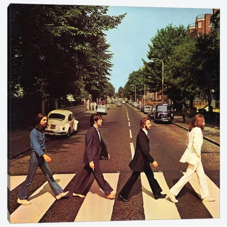 Abbey Road Canvas Print #RAD98} by Radio Days Art Print