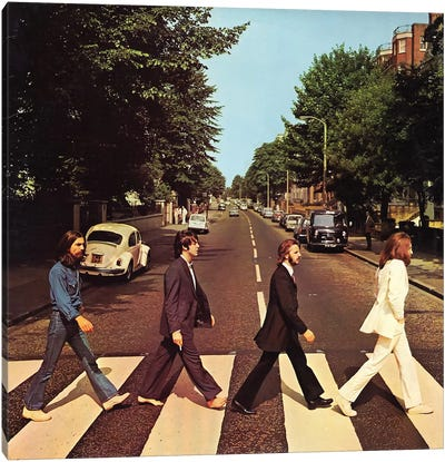 Abbey Road Canvas Art Print