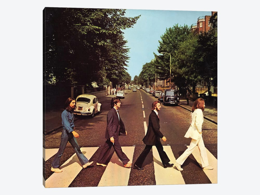Abbey Road by Radio Days 1-piece Canvas Art Print