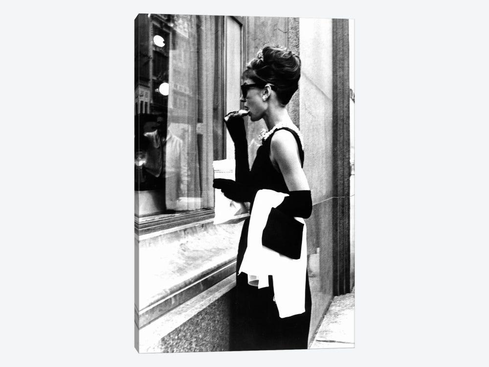 e730f1853394 Audrey Hepburn Window Shopping II by Radio Days 1-piece Canvas Art Print