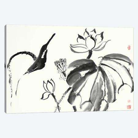 Lotus Study I Canvas Print #RAE3} by Nan Rae Canvas Art Print