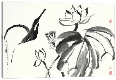 Lotus Study I Canvas Art Print