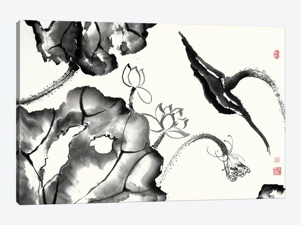 Lotus Study II by Nan Rae 1-piece Canvas Art Print