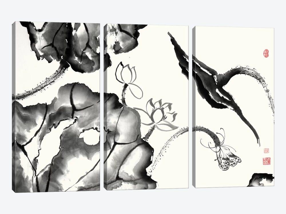 Lotus Study II by Nan Rae 3-piece Art Print