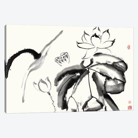 Lotus Study III Canvas Print #RAE5} by Nan Rae Canvas Artwork