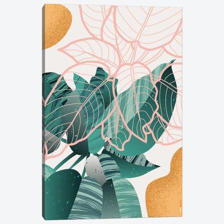 Floral Brazil III Canvas Print #RAF100} by Rafael Gomes Canvas Art