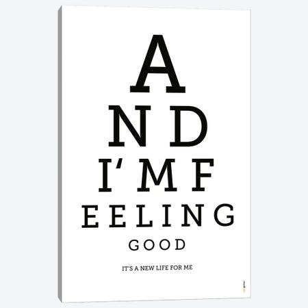 Feeling Good Canvas Print #RAF11} by Rafael Gomes Canvas Art Print