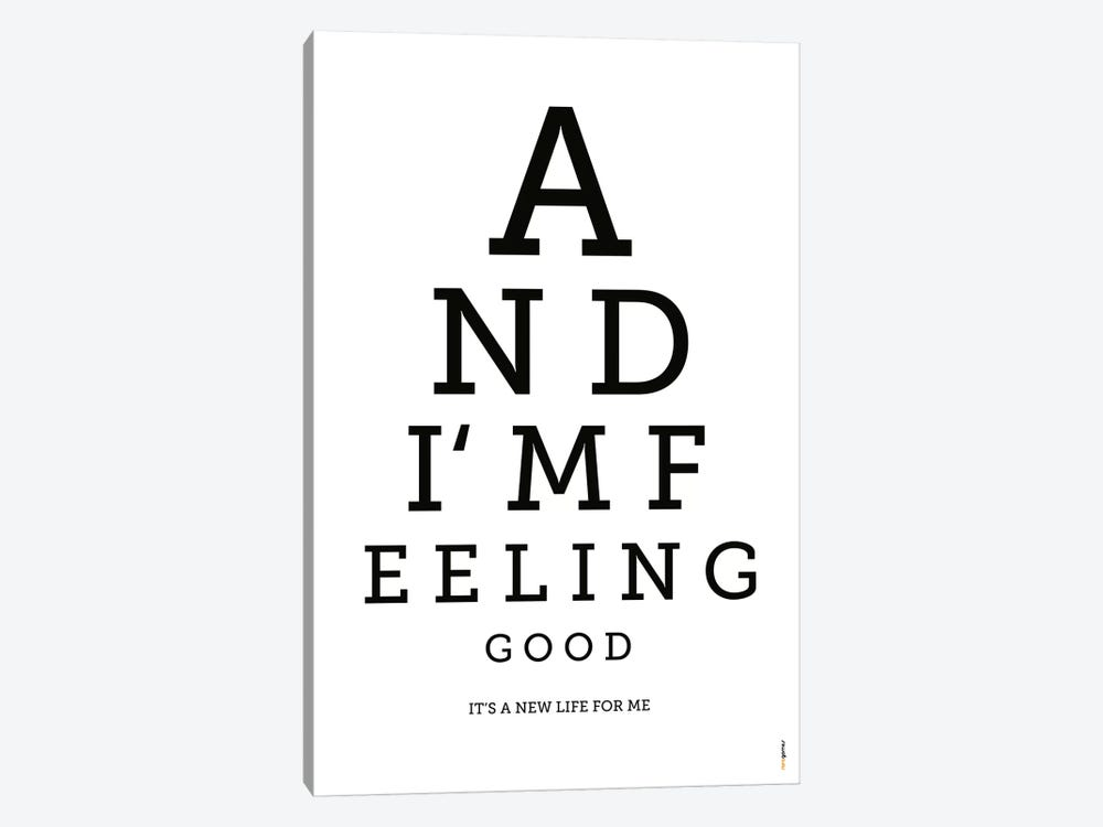 Feeling Good 1-piece Canvas Art Print