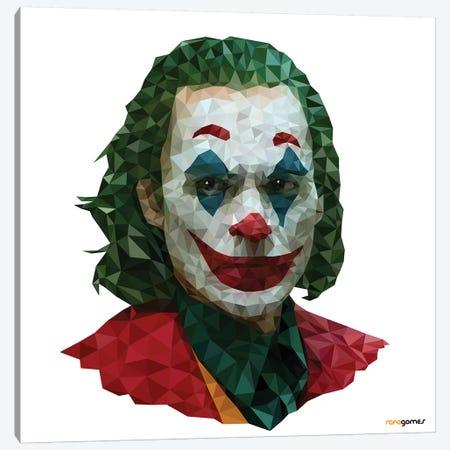 Joker II Canvas Print #RAF125} by Rafael Gomes Canvas Art Print