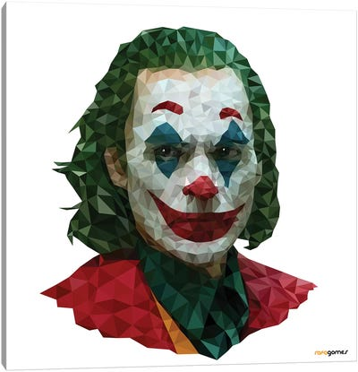 Joker II Canvas Art Print