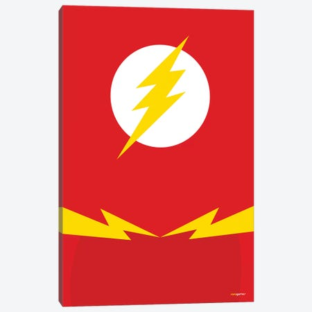 Flash Canvas Print #RAF12} by Rafael Gomes Canvas Print