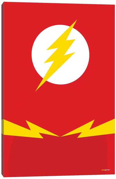 Flash Canvas Art Print