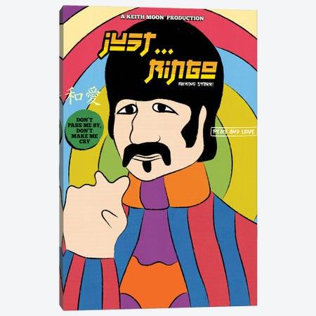 Just... Ringo! Canvas Print #RAF132} by Rafael Gomes Canvas Art Print