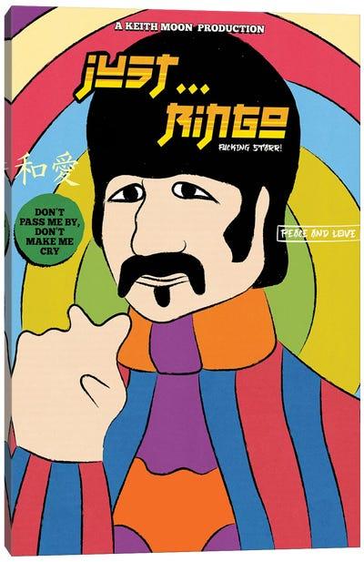 Just... Ringo! Canvas Art Print