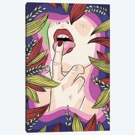 Natalie Vaux Canvas Print #RAF139} by Rafael Gomes Canvas Art Print
