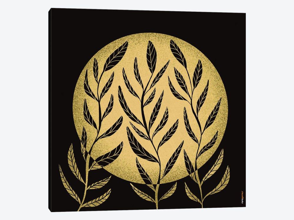 Yellow Moon by Rafael Gomes 1-piece Canvas Print