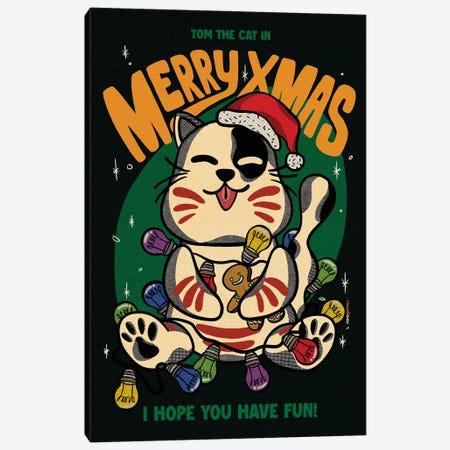 Merry Xmas Brothers Canvas Print #RAF157} by Rafael Gomes Canvas Wall Art