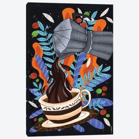 Coffee First Canvas Print #RAF161} by Rafael Gomes Canvas Art