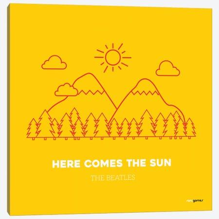 Here Comes The Sun Canvas Print #RAF16} by Rafael Gomes Canvas Artwork